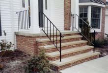 Wrought Iron Railings Add Beauty